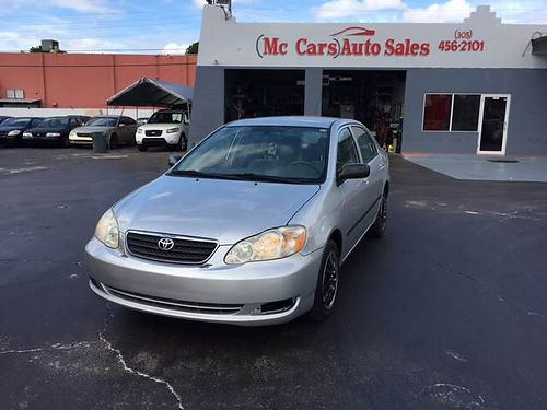 2007 TOYOTA COROLLA AC All Power Automatic We Finance Everyone Buy Here Pay Here 877 210-6400