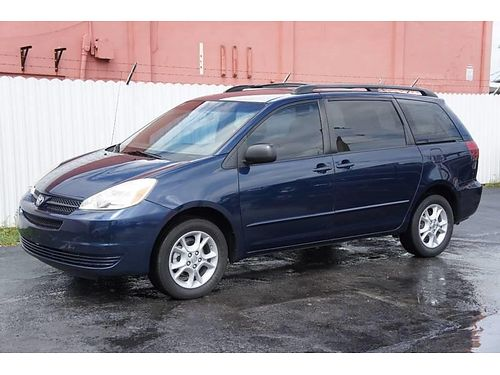 2005 TOYOTA SIENNA 3rd Row Seating AC All Power Automatic We Finance Everyone Buy Here Pay Here
