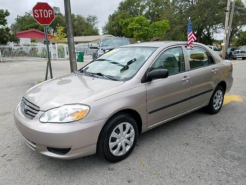 2003 TOYOTA COROLLA All Power Alloys Automatic Buy Here Pay Here 888 618-7602  3495