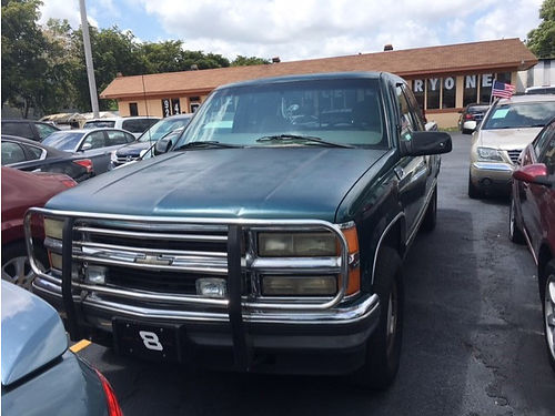 2000 CHEVY SILVERADO 1500 Z71 All Power Automatic Crew Cab 305 710-5096  2800