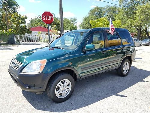 2003 HONDA CRV AC All Power Automatic Buy Here Pay Here 888 618-7602  4595