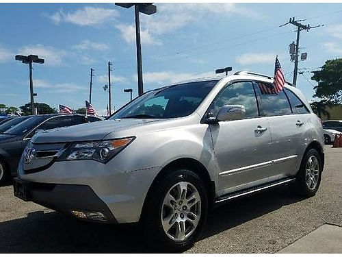 2009 ACURA MDX All Power Alloys Automatic Fully Loaded Leather Buy Here Pay Here Clean Carfax