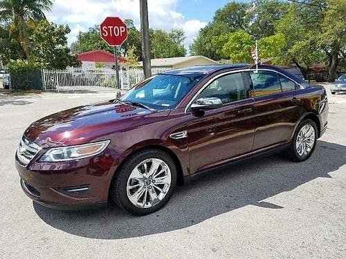 2011 FORD TAURS LIMITED All Power Automatic Fully Loaded Buy Here Pay Here Clean Carfax Warrant