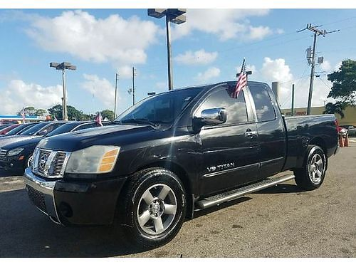 2005 NISSAN TITAN KING CAB AC All Power Bedliner Buy Here Pay Here Clean Carfax Warranty Availa