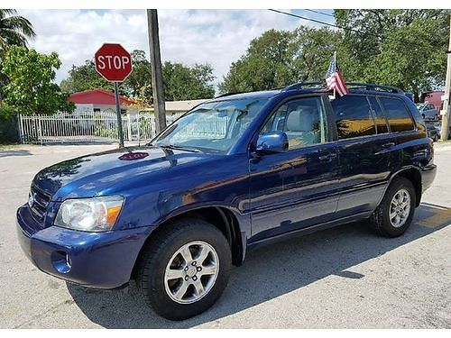 2007 TOYOTA HIGHLANDER AC All Power Alloys Automatic Buy Here Pay Here Clean Carfax Warranty A