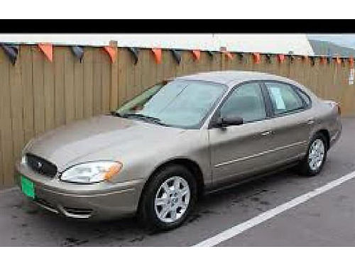 2004 FORD TAURUS AC All Power Alloys Automatic We Finance Everyone 888 855-8514  2900