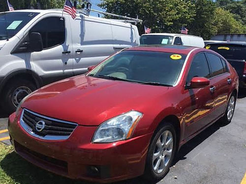 2007 NISSAN MAXIMA SE All Power Alloys Automatic Leather Sunroof Only 92k Miles Must See 30