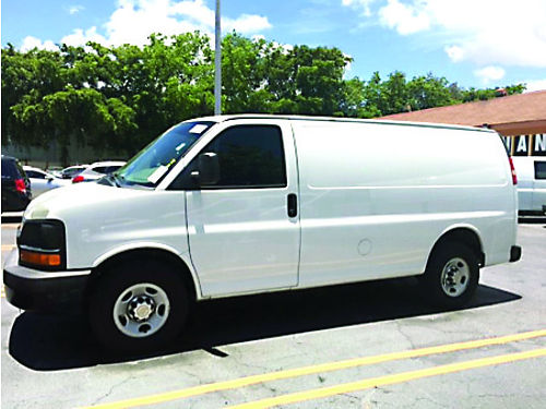 2011 CHEVROLET 2500 CARGO VAN AC All Power Automatic Cabinets Low Miles Ready To Work 305 710