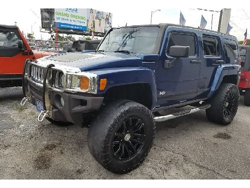 2006 HUMMER H3 4x4 DVD Leather Limited Edition 130k Miles Buy Here Pay Here No Credit Approve