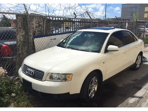 2004 AUDI A4 AC All Power Alloys Automatic Leather Everyones Approved 888-634-6144  2995