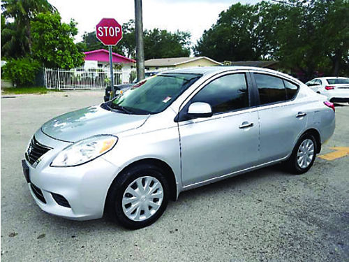 2012 NISSAN VERSA AC All Power Autoamtic Fully Loaded 888 618-7602  5995