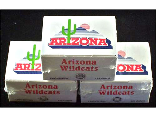 ARIZONA WILDCATS 1990 Collegiate Collection Factory Sealed Boxed Set Of Cards Includes Basketball
