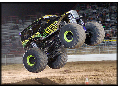 Tournament Of Destruction Monster Trucks March 31st - April 1st Tucson Rodeo Grounds 4823 S 6th Av