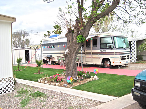 RV LOTS FOR RENT 6th Month Free Rent with 5 months prepay 338mo  Utilities Vista Del Rey A 55