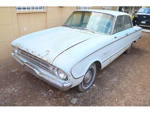 1961 FORD FALCON 4-door standard lots of new parts original L6 engine good glass  tires runs