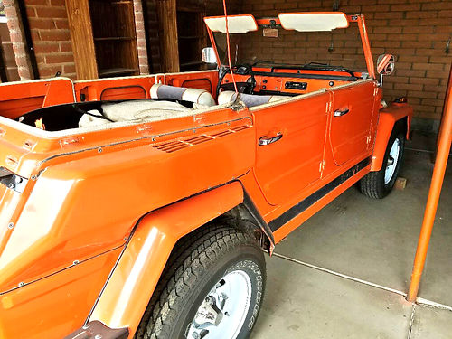 1974 VOLKSWAGEN THING excellent shape runs great 7500