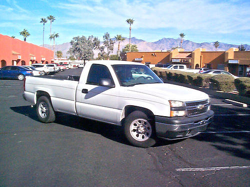 2006 CHEVY SILVERADO 8 Longbed 6 Cyl 94Kmi AC AT Bedliner Tow Pkg 2nd Owner Great For Hau
