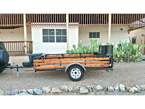 2010 TRAILER 8x16 previously hauled CanAm bike17x32 toolbox included 3700 OBO