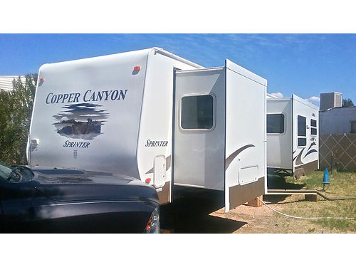 2005 COPPER CANYON 320 RLS Sprinter 2 slides fiberglass garden shower tub new tires many extras