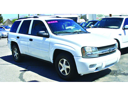 2006 CHEVY Trailblazer LS 4WD 6cyl AT loaded super nice unit 5495