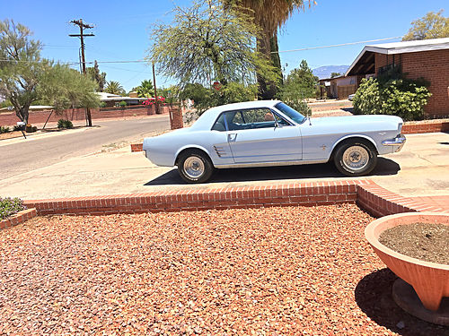 1966 FORD MUSTANG 289 Engine Auto Factory Air AZ Car 2nd Owner Excellent Cond 13000 OBO 5