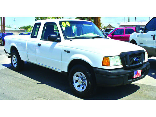 2004 FORD Ranger XLT super-cab V6 AT PS AC super clean 4995