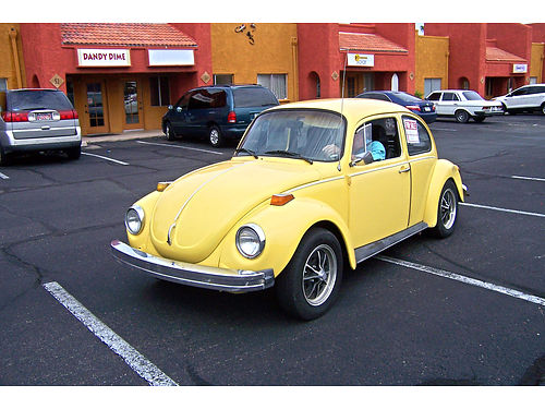 1974 VOLKSWAGEN BEETLE 4-speed rebuilt motor new Brakes tires front end interior runs great