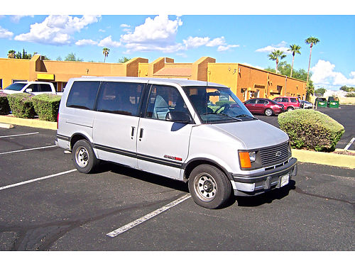 1994 CHEVY ASTRO van runs great cold AC146K miles Asking 1000 520-373-7989 520-419-8434