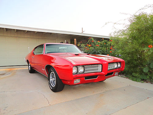 1969 GTO 400 V-8 PS PB AC AT 2nd Owner Documented Tucson Car Refurbished 15 Yrs 28500