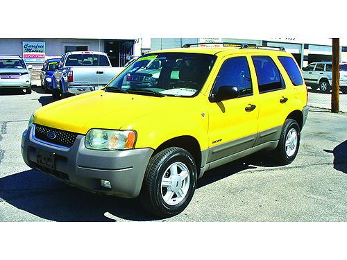 2002 FORD Escape 2WD XLT V6 AT loaded only 96K miles 4995