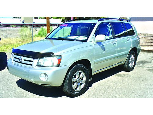 2004 TOYOTA Highlander Sport utility 2WD V6 AT 3rd row seat loaded 6895