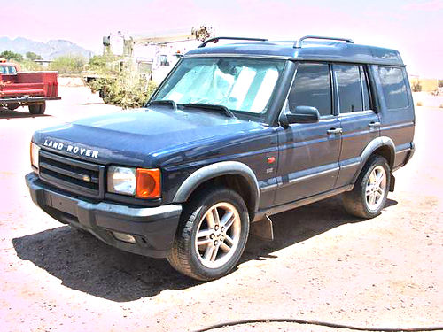 2002 LAND ROVER Discovery II 4X4 did not pass emissions drives good good tires new master brake c