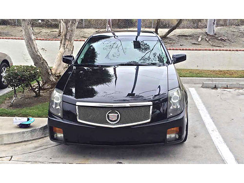 2007 CADILLAC CTS V6 loaded leather upgraded sound system 16 tires sport rims remote control