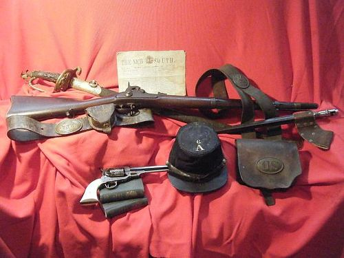 CASH FOR ANTIQUE GUNS Old West Indian and Civil War items Stone Indian bowls Private collector