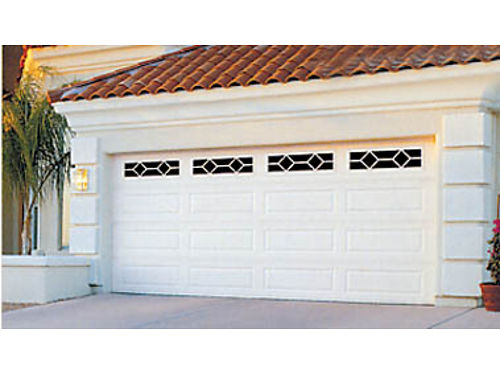 16X7 raised panel steel garage door starting at 775 installed Plus removal of old door 2756 Co