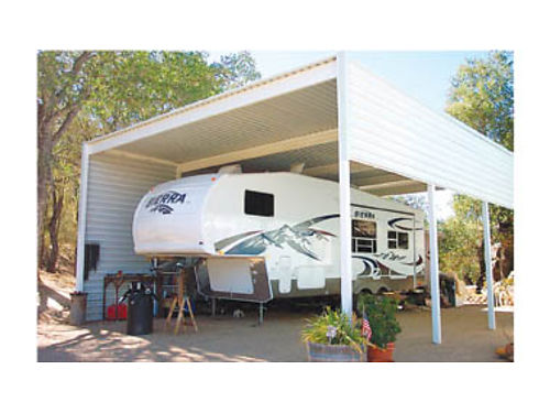 18X36 RV COVERS with 17 posts 2960 Paso Robles Calif 805-238-1632 wwweq-winecoverscom