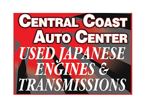 USED Japanese Engines  Transmissions 1150 Main St Morro Bay 805-772-1249