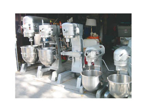 HOBART MIXERS For Sale 20 Qt 30 Qt 60 Qt 80 Qt Hobart Slicers manual and auto Like new Great