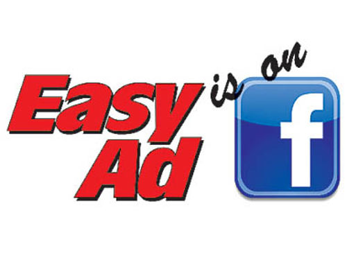 LIKE US ON FACEBOOK View the online edition of the Easy Ad Magazine right from Facebook The new ma