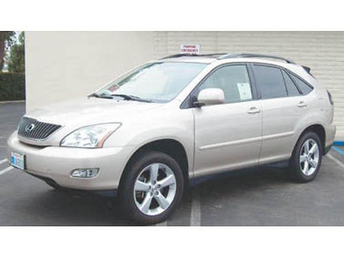 2004 LEXUS RX330 SUV sunroof leather AC AT auto tailgate memory seats good tires new battery