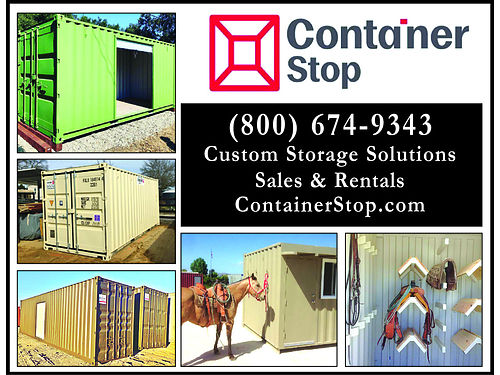 CONTAINER STOP Containers for sale and rent All lengths and sizes 10 20 40 containers Call