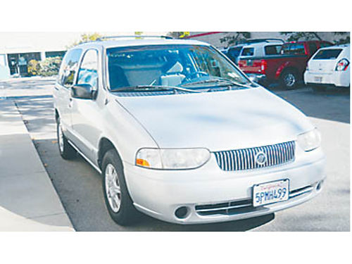 2001 MERCURY VILLAGER AT recent maint including oil change new injectors new starter Very good