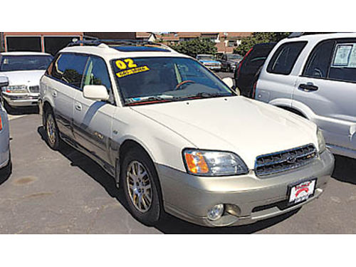 2002 SUBARU OUTBACK VDC AWD leather Now only 4995 U1986646330 FAMILY MOTORS 1101 W Ocean