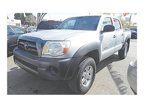 2008 TOYOTA TACOMA Double Cab Pre-Runner TRD sport pkg 17995 U2216052254 Only at FAMILY MOTO