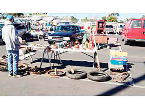 GARAGE SELLERS Nipomo Swapmeet is offering free Saturday selling spaces for YardGarage sellers wh