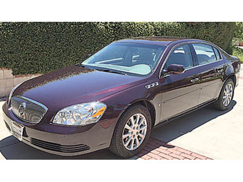 2009 BUICK LUCERNE CXL - 39L V6 dual pleather seats Onstar low miles 100075 OUR PRICE 1099