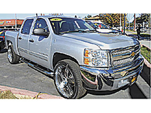 2012 CHEVY SILVERADO CREW CAB LT Prem rims Room for the family - youll love it 214305 18995