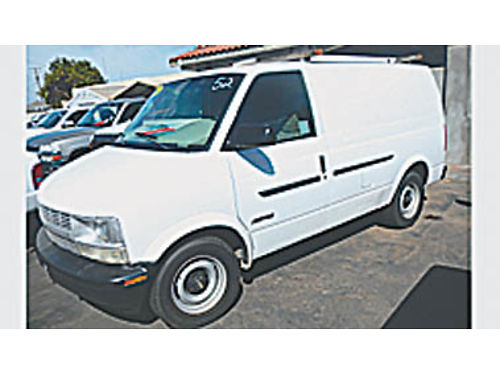 2000 CHEVY ASTRO Hurry - this will go fast 0720219579 2995 SBCARCO 1001 West Main Street Sa