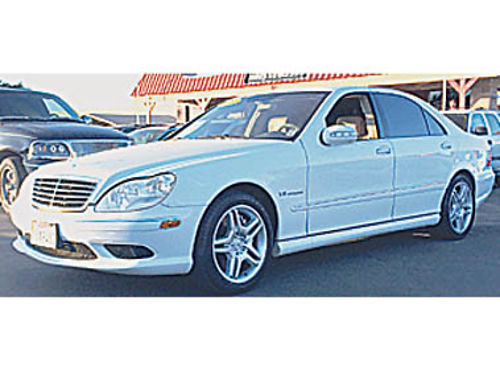2004 MERCEDES BENZ S55 Come test drive today Loaded 399373 8995 SBCARCO 1001 West Main Stre