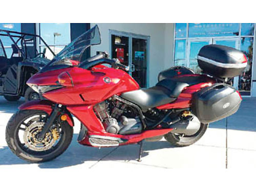 2009 HONDA DN-01 17K mi htd grips cust adj windshield bar end mirrors tail side boxes auto tu